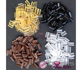 50 unhas de queratina profissional - várias cores disponíveis