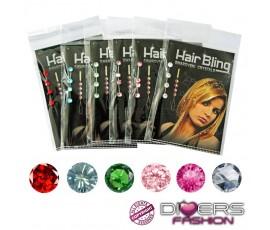 Hair Bling jóia para cabelo várias cores disponíveis