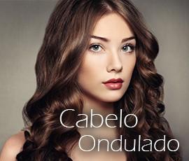 Extensões queratina cabelo ondulado