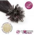 Extensões de queratina cabelo liso cor Nº613