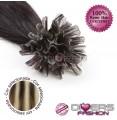 Extensões de queratina cabelo liso cor MADEIXA Nº6/613