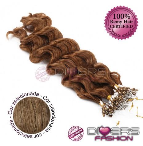 Extensões anilhas LOOP cabelo crespo cor Nº8
