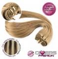 Extensões tissage em banda cabelo liso cor MADEIXA Nº6/613