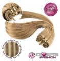Extensões tissage em banda cabelo liso cor MADEIXA Nº8/613