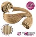 Extensões tissage em banda cabelo liso cor MADEIXA Nº16/613