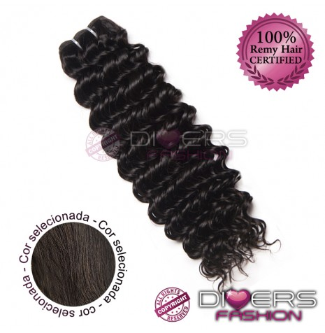 Extensões tissage em banda cabelo crespo cor Nº2