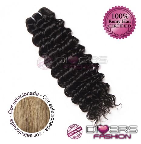 Extensões tissage em banda cabelo crespo cor Nº16