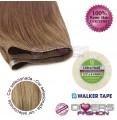 Extensões adesivas skinweft cabelo liso cor Nº16