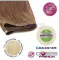 Extensões adesivas skinweft cabelo liso cor Nº613
