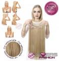 Extensões Fio invisível cabelo liso - cor Nº16
