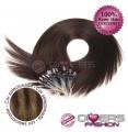 Extensões anilhas LOOP cabelo liso cor MADEIXA Nº6/8