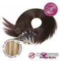Extensões anilhas LOOP cabelo liso cor MADEIXA Nº16/613