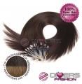 Extensões anilhas LOOP cabelo liso cor CALIFORNIANA Nº2/8