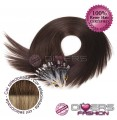 Extensões anilhas LOOP cabelo liso cor CALIFORNIANA Nº6/16