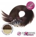 Extensões anilhas LOOP cabelo liso cor CALIFORNIANA Nº6/613