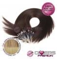 Extensões anilhas LOOP cabelo liso cor CALIFORNIANA Nº16/24